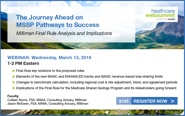 The Journey Ahead on MSSP Pathways to Success: Milliman Final Rule Analysis and Implications
